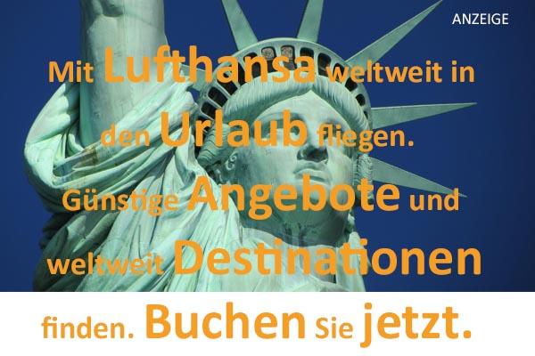 Mit Lufthansa weltweit fliegen