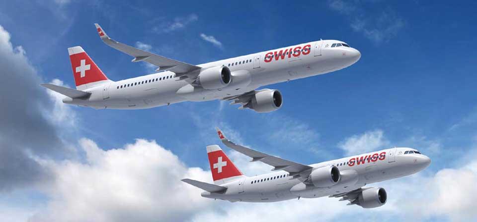 Zehn der 27 neuen Airbus-Flugzeuge mit der New Engine Option (neo) sind für SWISS vorgesehen. Foto: Lufthansa