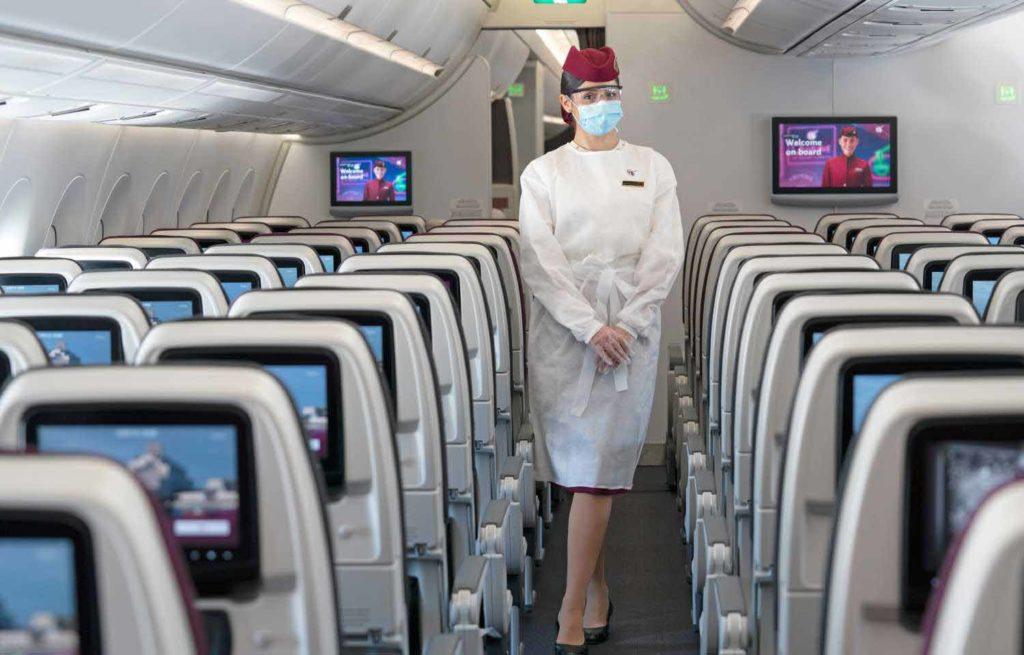 Die Airline meldet eine extrem niedrige Zahl von COVID-19-Fällen an Bord ihrer Flugzeuge / Foto: Qatar Airways