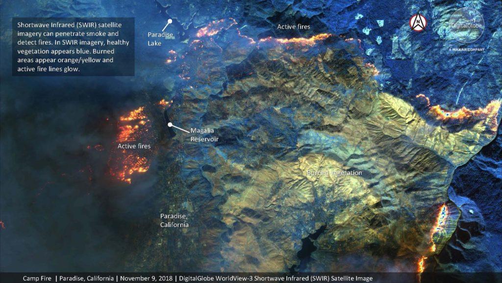Übersichtskarte. Satellite image ©2018 DigitalGlobe, a Maxar company
