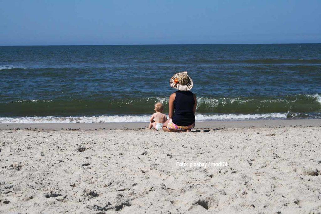 In der Elterzeit mit dem Baby verreisen. Foto: pixabay / modi74
