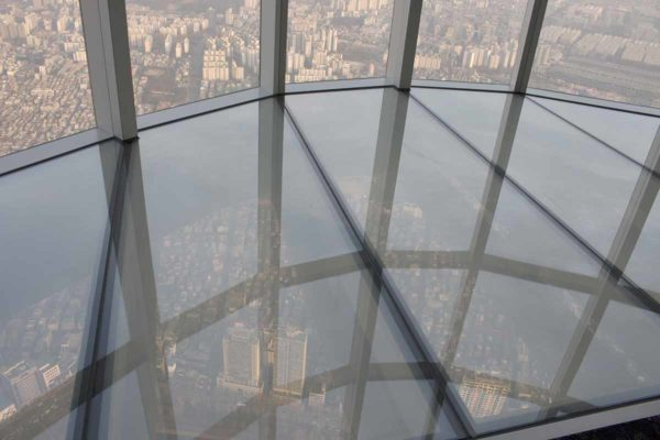 Südkorea, Soul, Lotte World Tower