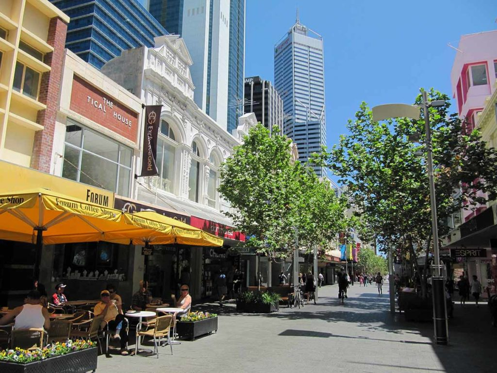 Innenstadt Perth. Foto: pixabay / 12019