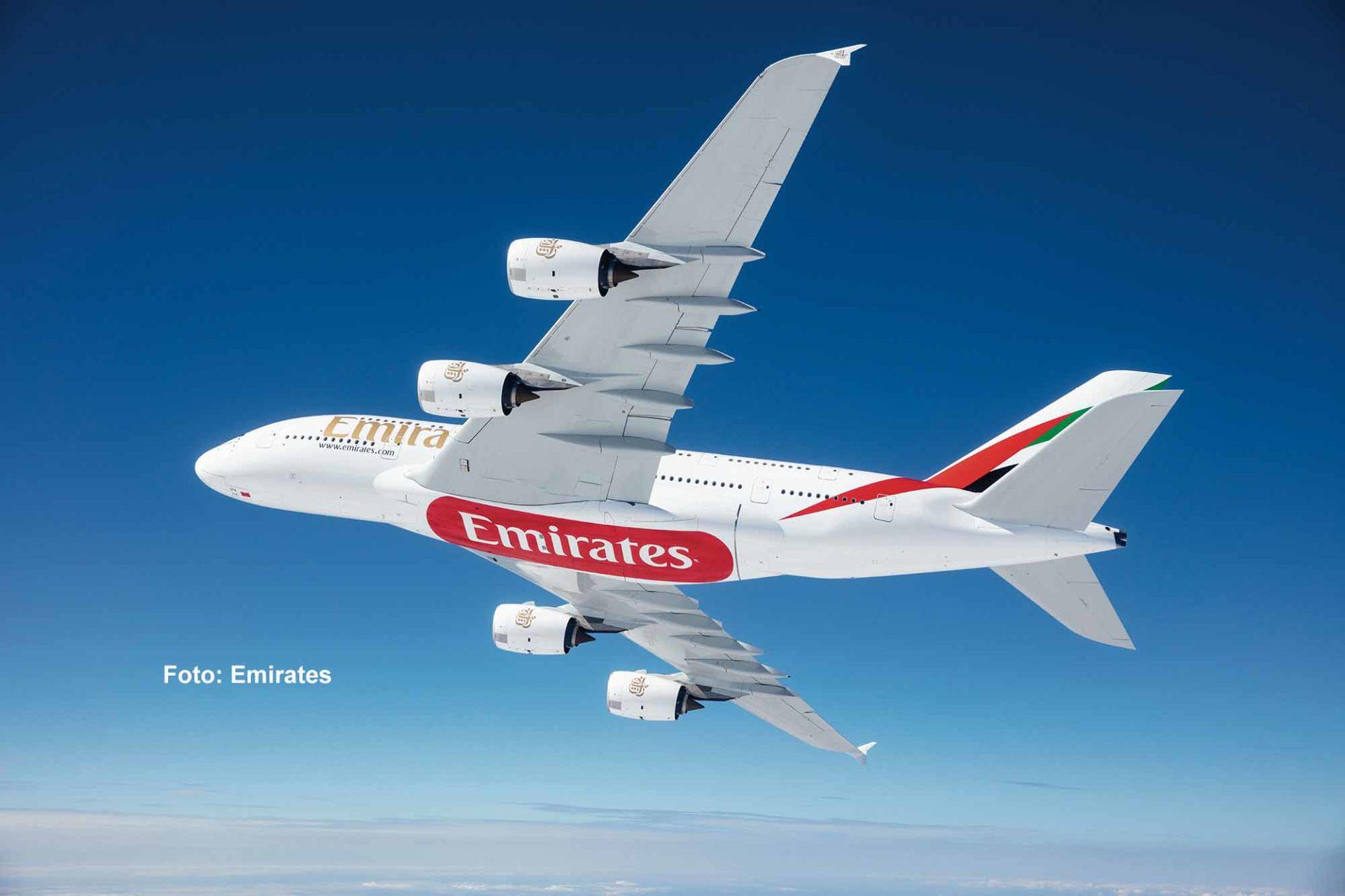 Emirates setzt die A380 jetzt wieder zunehmend ein / Foto: Emirates