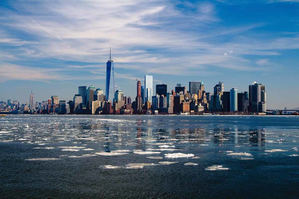 Skyline von New York im Winter. Foto: pixabay / mpewny
