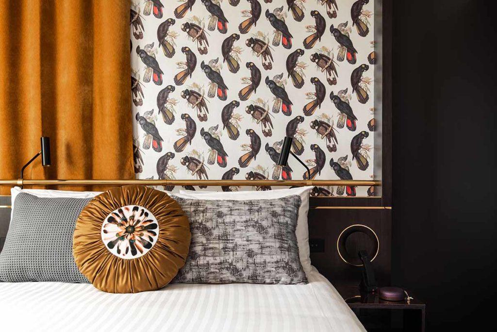 QT Perth. Im Design des 184 Zimmer-Hauses wurden Elemente der charakteristischen Küstenlandschaft Westaustraliens, in der die Wüste auf den Ozean trifft, aufgegriffen. Foto: Tourism Western Australia