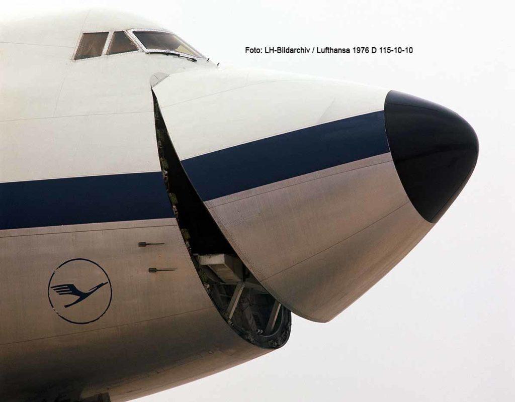 Lufthansa Boeing 747-200F Foto: LH-Bildarchiv / Lufthansa 1976 D 115-10-10