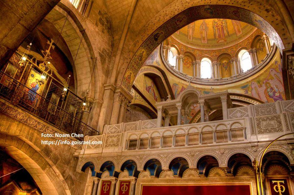 Grabeskirche oder Kirche vom heiligen Grab. Foto: Noam Chen https://info.goisrael.com