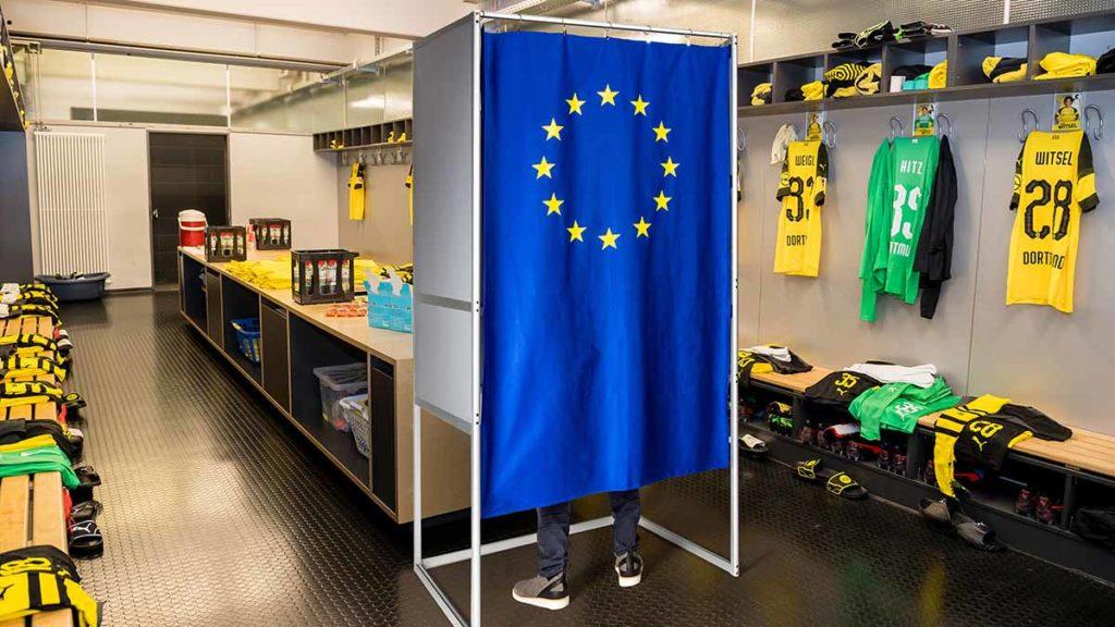 Zur Europawahl in die Kabine des BVB / © Alexandre Simoes