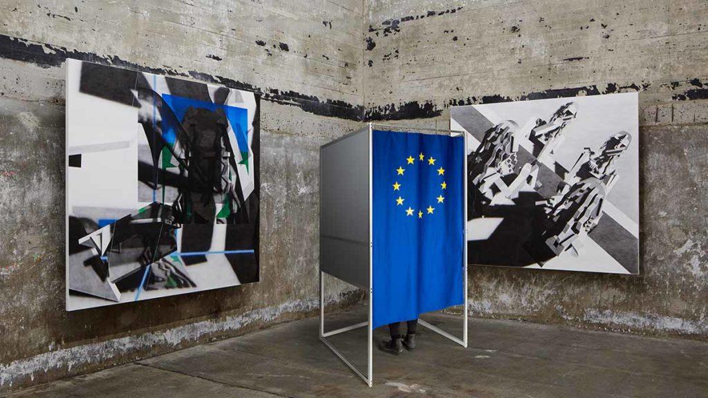 """Europawahl in der """"Sammlung Boros"""" in Berlin. / ©Noshe"""