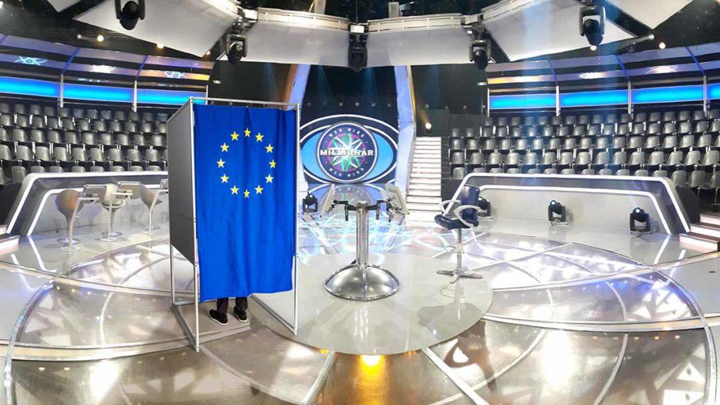 """Europawahl im Studio von """"Wer wird Millionär"""" / © Stefan Gregorowius"""