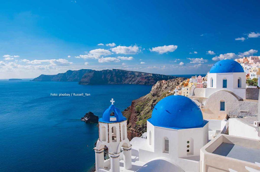 Santorini - leben und urlauben auf dem (erloschenen) Vulkan