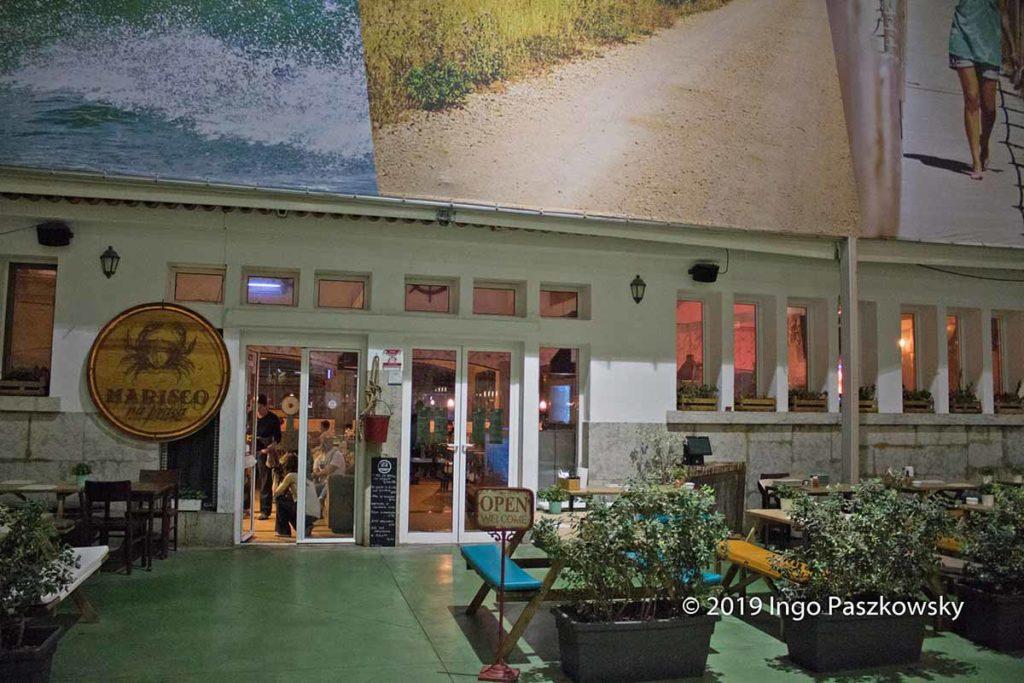 Das Restaurant Marisco na Praça ist eine Empfehlung wert