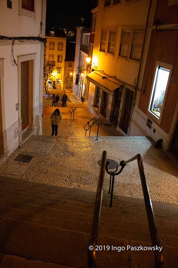 Coimbra am Abend
