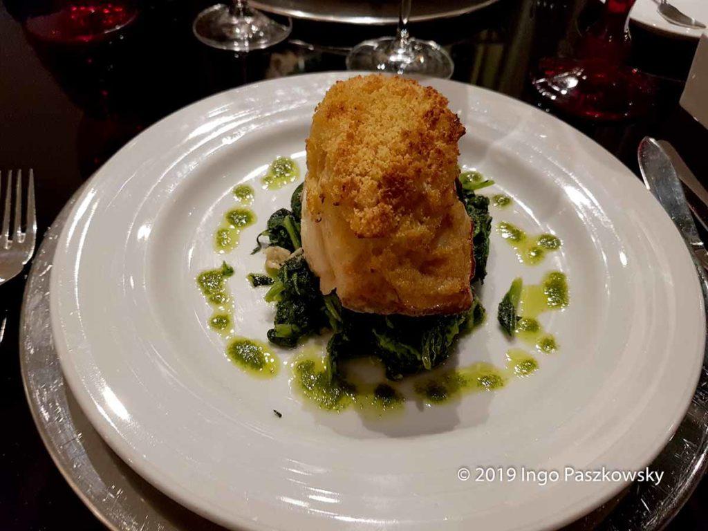 Köstlich - das Essen im Restaurant Inevitável