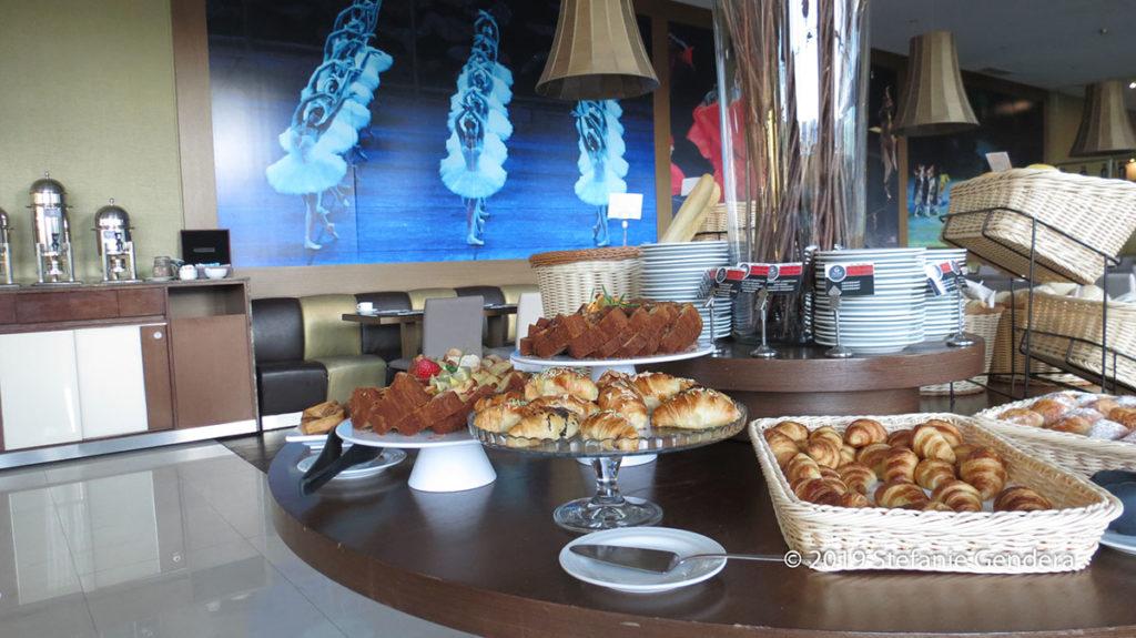 Reichhaltiges Frühstücksbüfett im Vila Galé