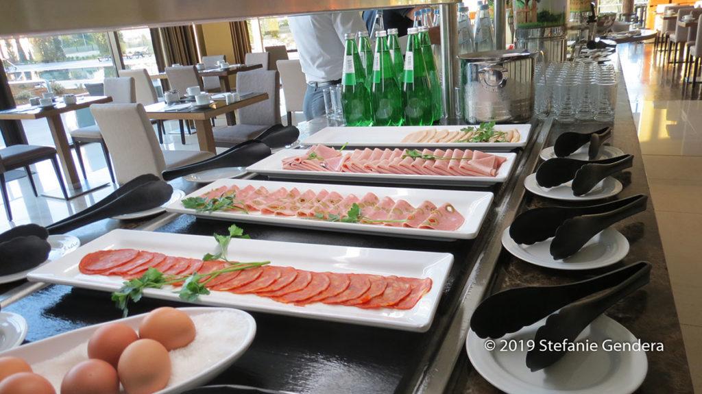 Frühstücks-Büfett im Vila Galé Coimbra