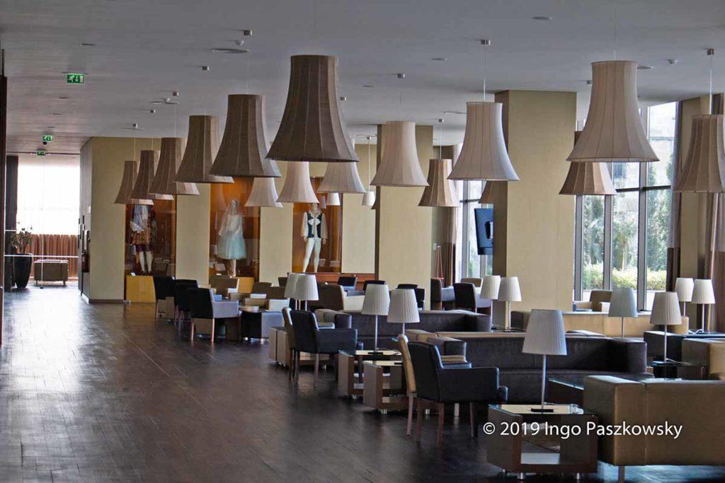 Hotel-Lobby im Vila Galé Coimbra