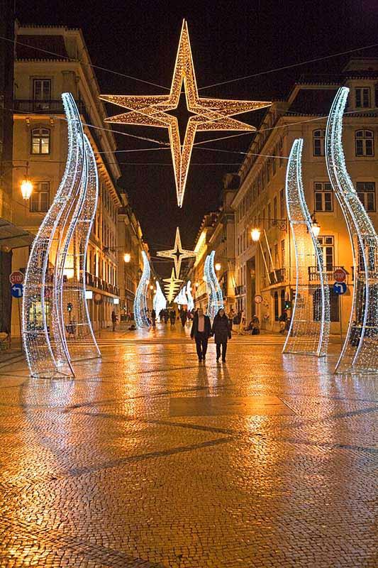 Lissabon zur Weihnachtszeit