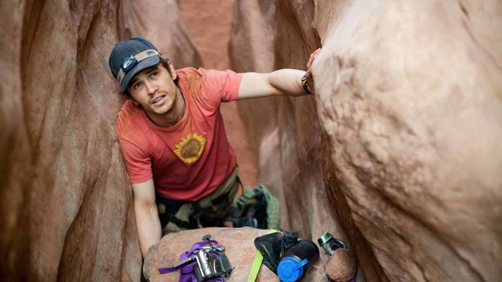 "James Franco als Aaron Ralston in ""127 Hours"" / Copyright: Utah Film Commission"