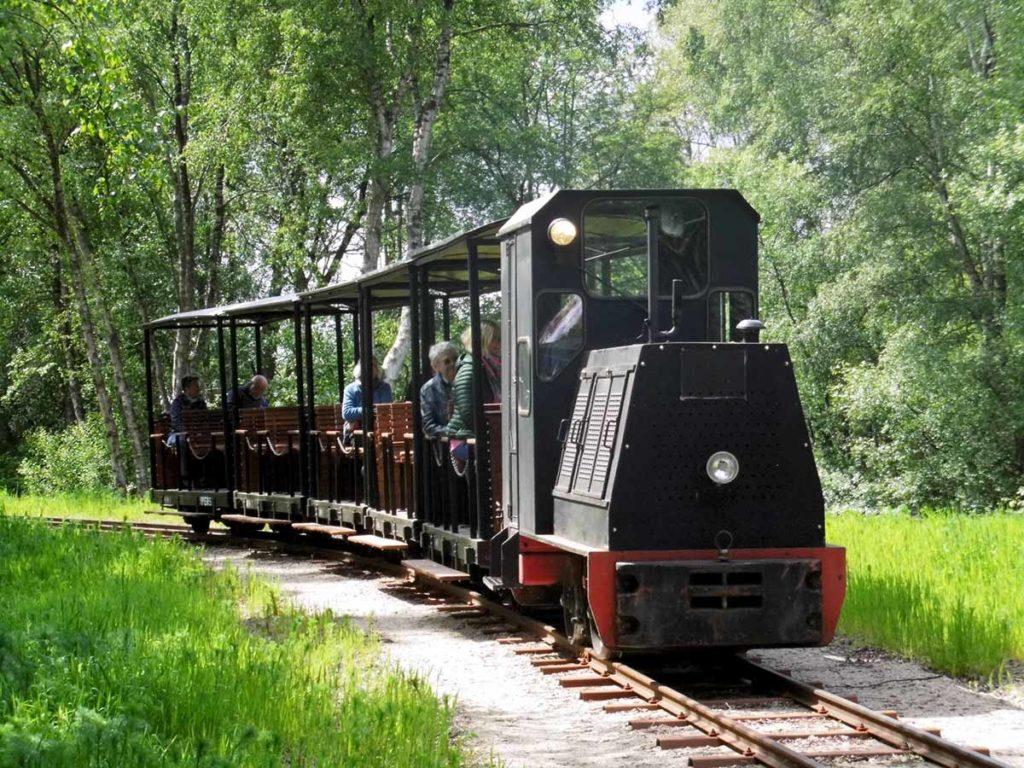 Mit der Moorbahn beschaulich im Emsland unterwegs