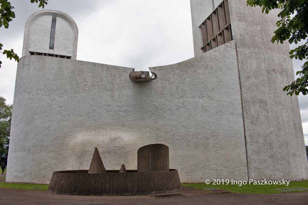 Kapelle Notre Dame du Haut in Ronchamp