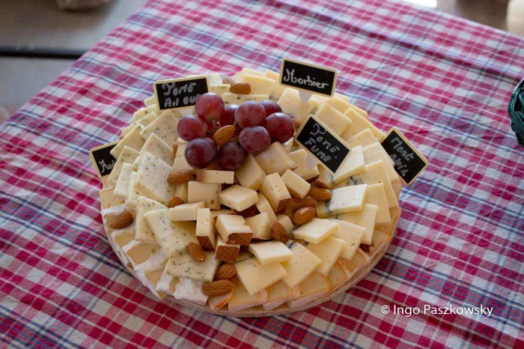 Essen und Trinken in Burgund-Franche-Comté