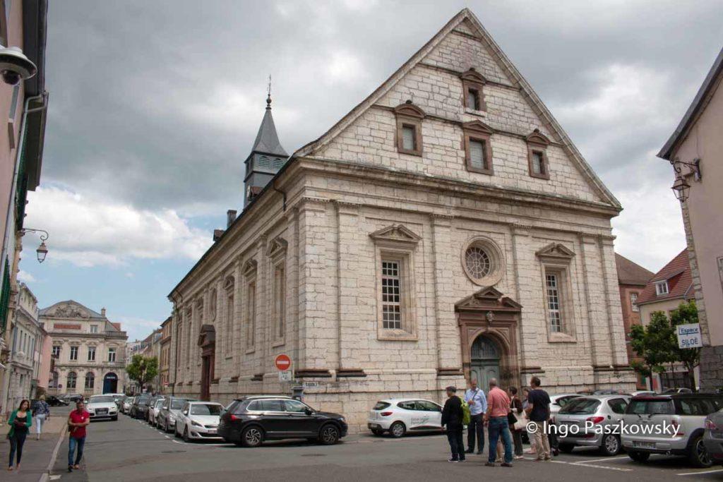 Evangelische Martinskirche in Montbéliard
