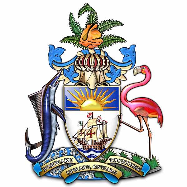 Das Wappen der Bahamas / Foto: pixabay / Captain-7