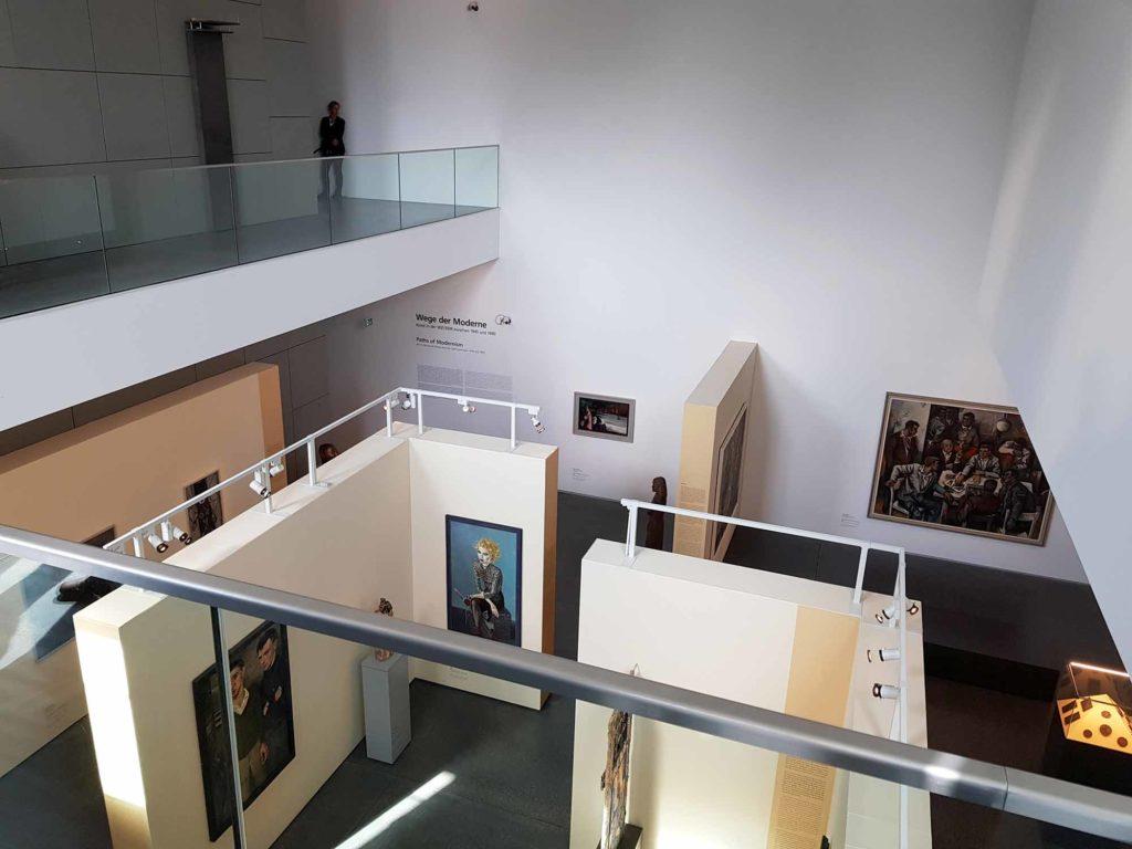 Ausstellung Weg der Moderne im Kunstmuseum Moritzburg. / Foto: Ingo Paszkowsky