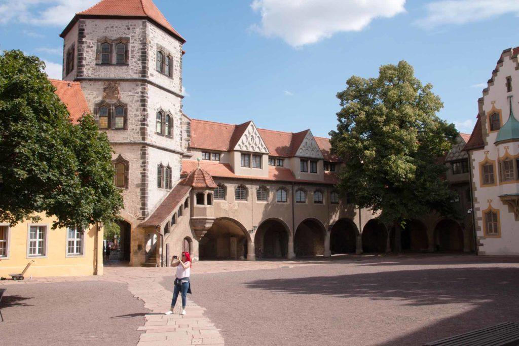 Die Moritzburg in Halle an der Saale beherbergt das Kunstmuseum. Foto: Ingo Paszkowsky