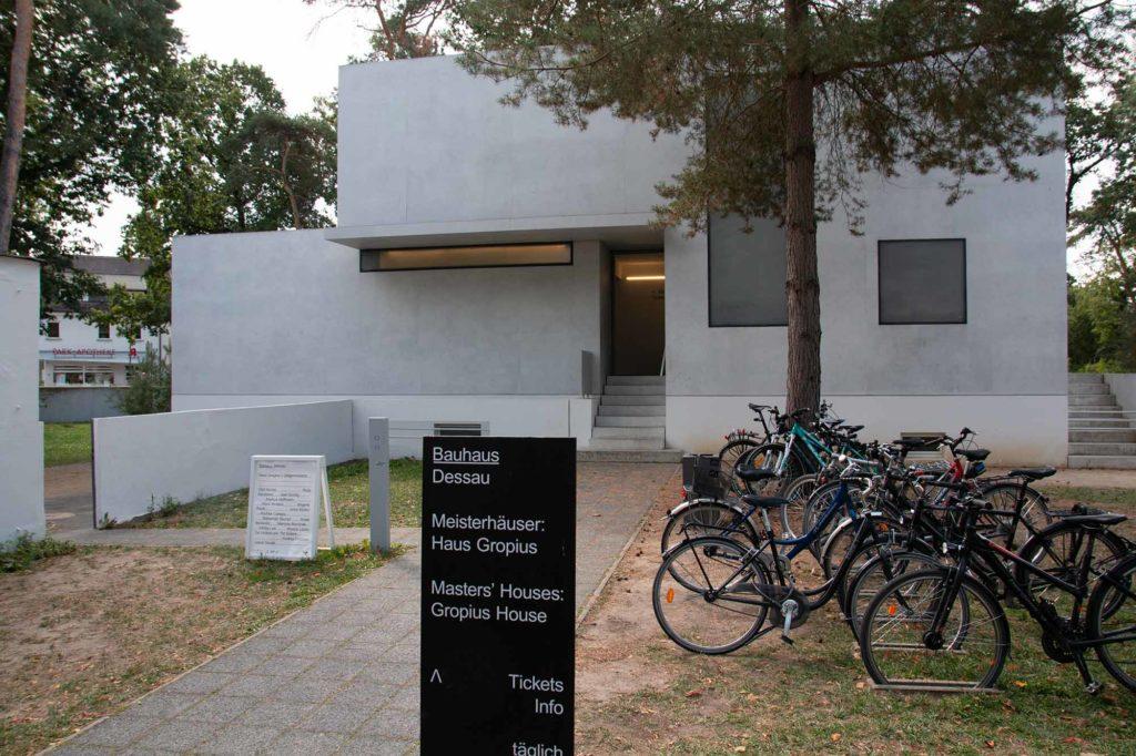 Bauhaus Dessau: Meisterhaus Gropius / Foto: Ingo Paszkowsky