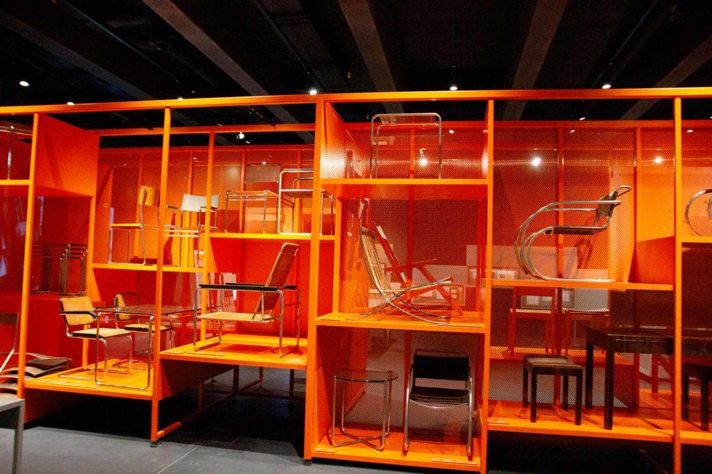 Bauhaus Museum Dessau. Entwürfe von Marcel Breuer und anderen / Foto: Ingo Paszkowsky