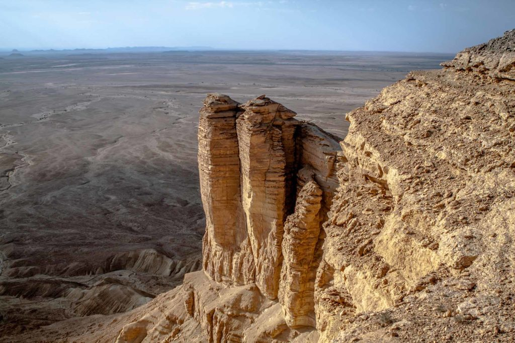 Edge of the World in Saudi-Arabien / Foto: Saudi Commission for Tourism & National Heritage