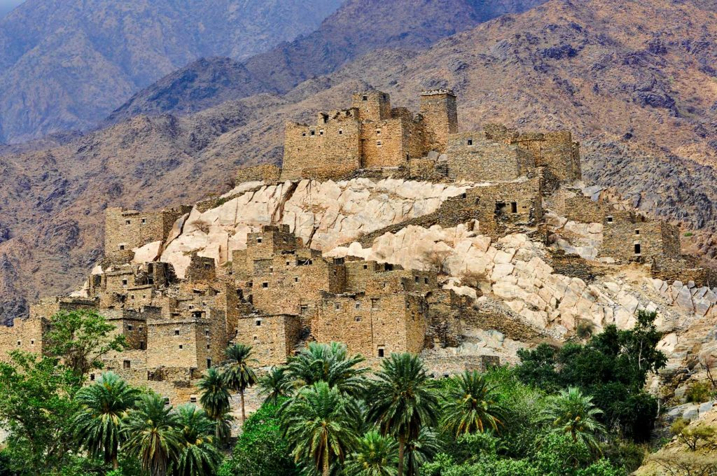 Zee Ain in der Provinz Baha. / Foto: Saudi Commission for Tourism & National Heritage