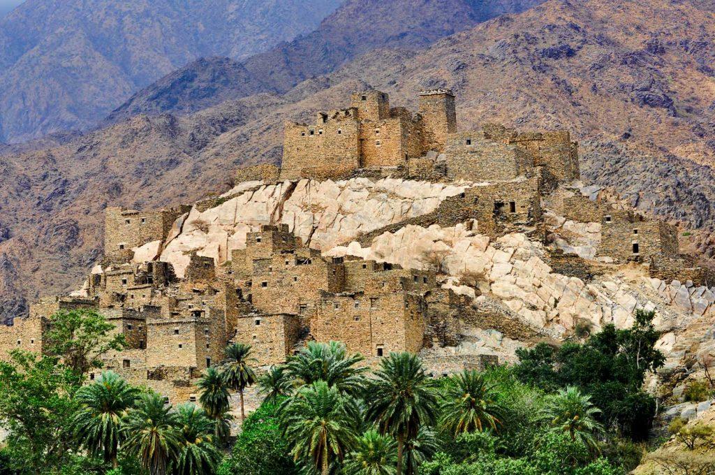 Zee Ain in der Provinz Baha. / Foto: Saudi Commission for Tourism & National Heritage