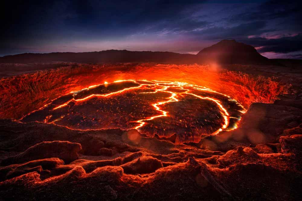 Der aktivve Vulkan Erta Ale / Copyright Shutterstock / Michail Vorobyev