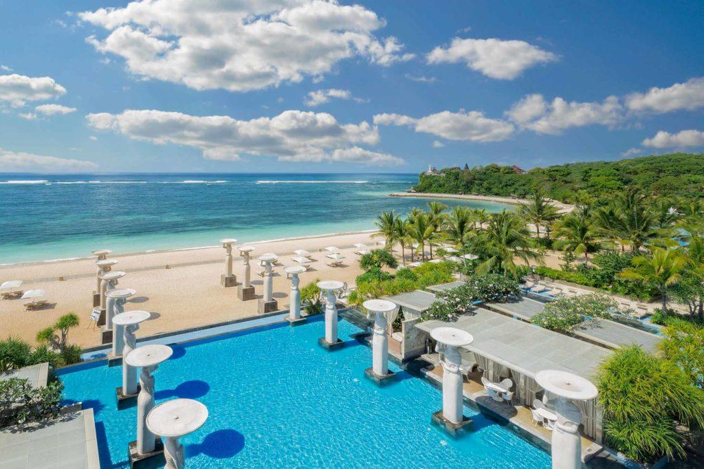 The Mulia: Blick auf den Indischen Ozean / Copyright: The Mulia, Mulia Resort & Villas – Nusa Dua, Bali