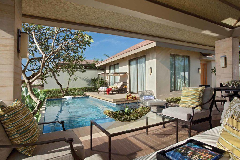 Mulia Villas: Pavilion einer Villa mit einem Schlafzimmer / Copyright: The Mulia, Mulia Resort & Villas – Nusa Dua, Bali