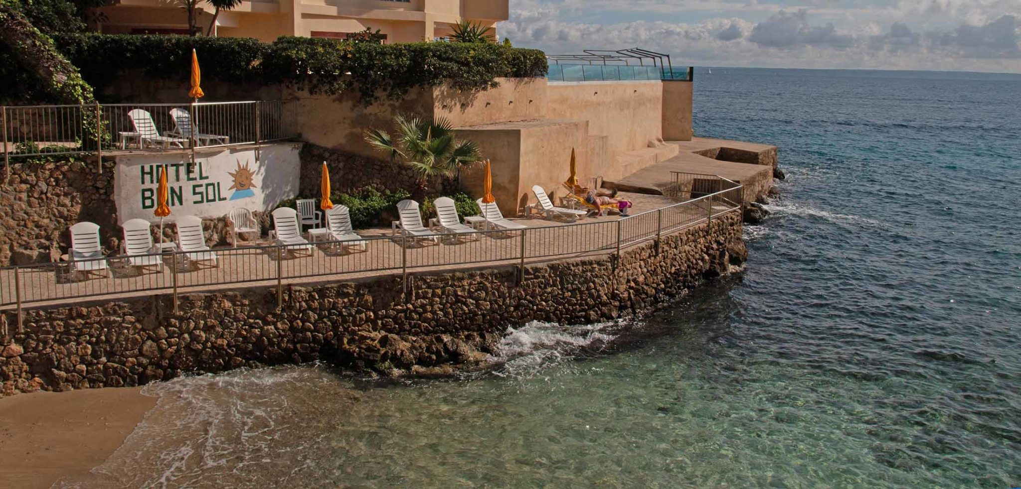 Das Bonsol besitzt einen direkten Zugang zum Mittelmeer / Foto: Ingo Paszkowsky
