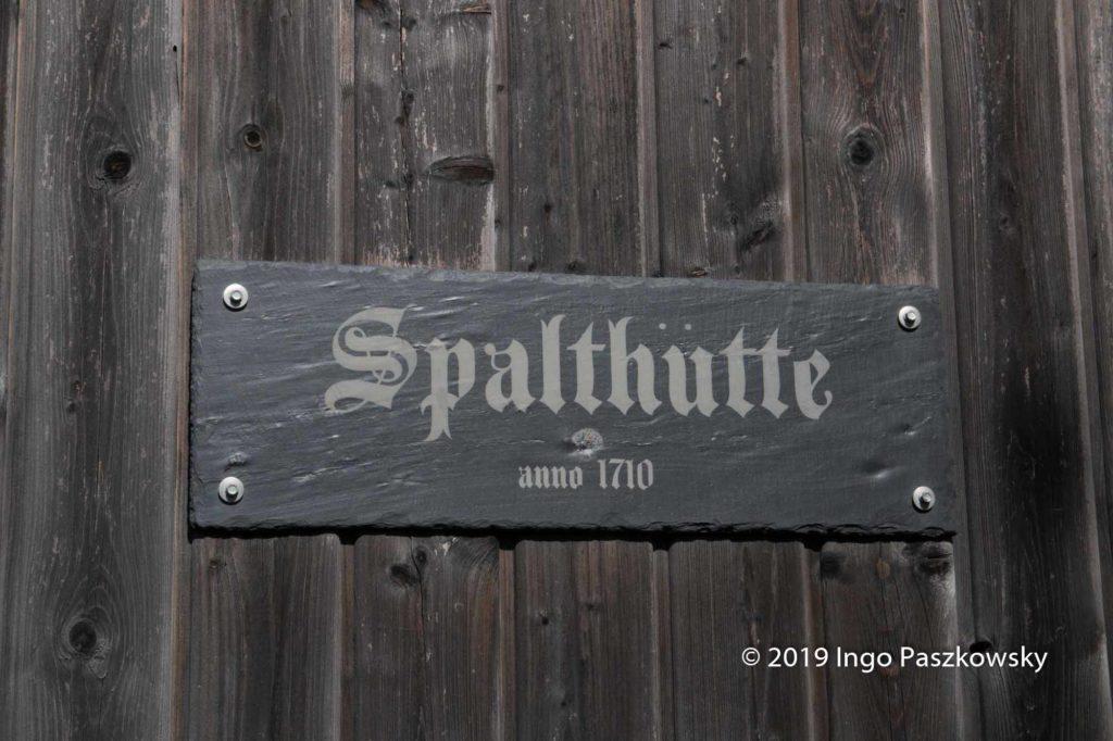 Spalthütte im Schieferbergwerk Lotharheil / Foto: Ingo Paszkowsky