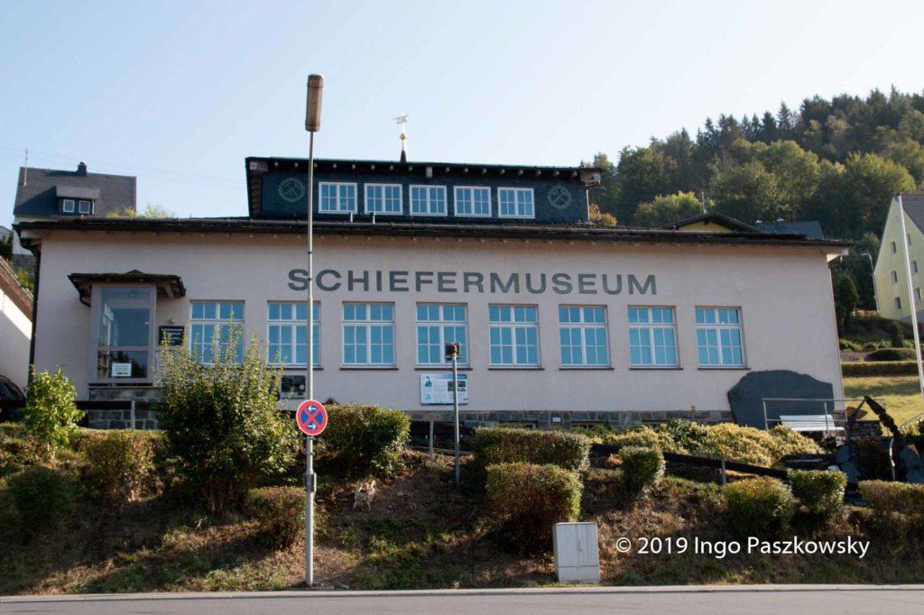 Das Deutsche Schiefertafel Museum in Ludwigsstadt präsentiert viele Produkte aus Schiefer / Foto: Ingo Paszkowsky