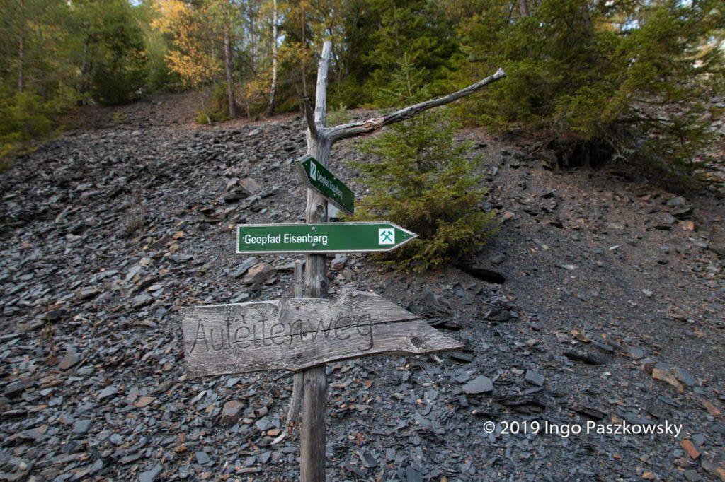 23 Geopfade gibt es bereits im GeoPark Schieferland / Foto: Ingo Paszkowsky