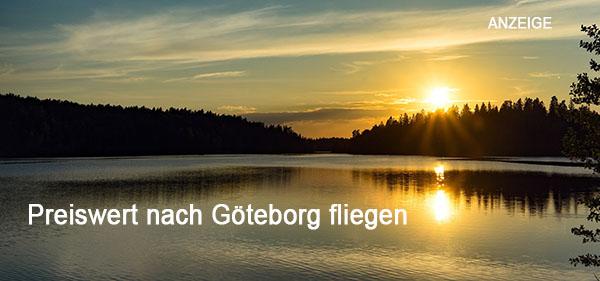 Preiswert fliegen nach Göteborg