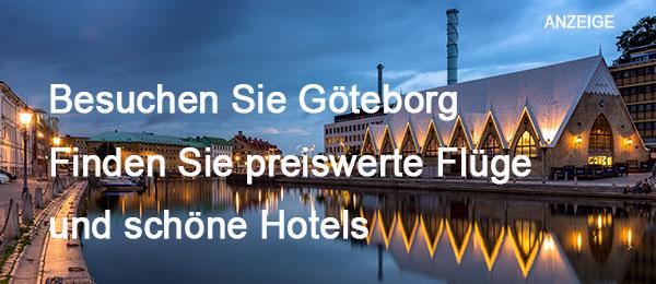 Göteborg - Flüge und Hotels
