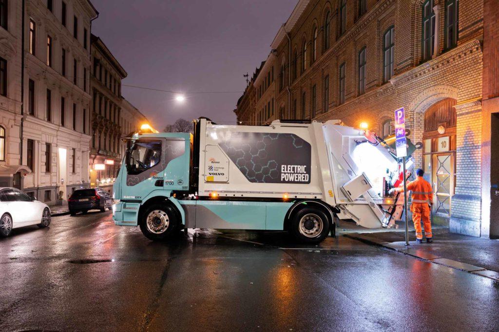 Wenn die Müllabfur elektrisch daherkommt. Göteborg ist nachhaltigstes Reiseziel der Welt / Sofia Sabel/imagebank.sweden.se