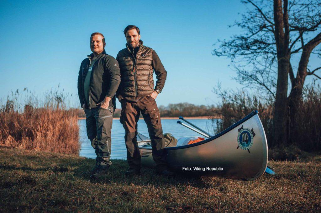 Die Viking Republic-Gründer Finn Reitenbach und Maximilian König (r.) / Foto: Viking Republic