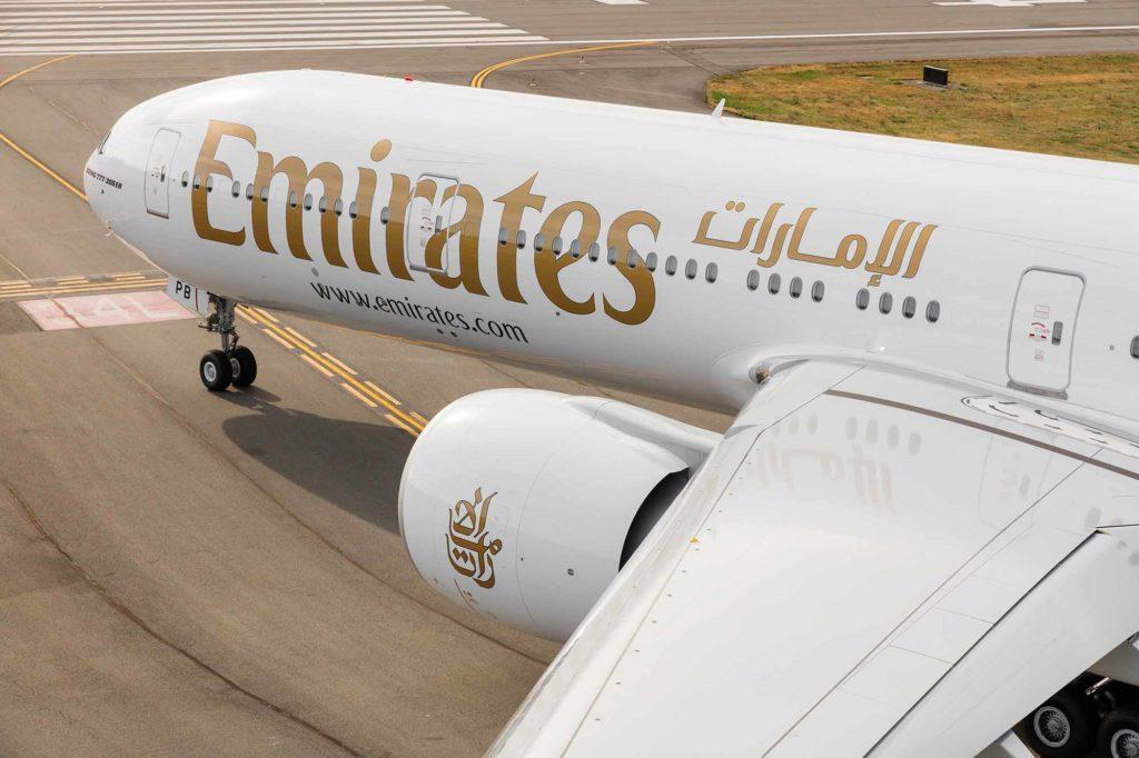 Emirates Boeing 777-300ER / Foto: Emirates / © 2015 Chad Slattery