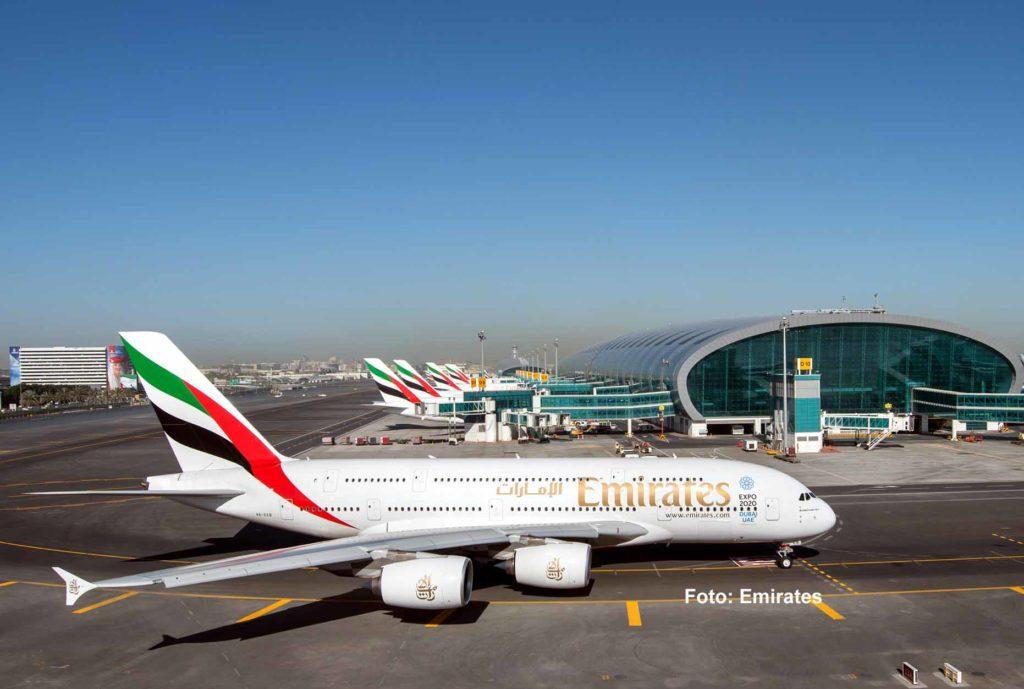 Emirates setzt jetzt wieder die A380 ein, jedoch sind die meisten Emirazes A380 derzeit noch am Boden / Foto: Emirates
