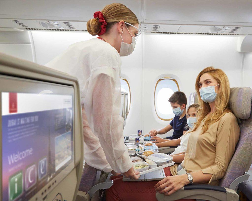 Fliegen in Corona-Zeiten / Foto: Emirates / Duncan Chard